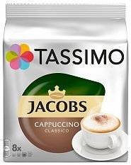 капсулы Tassimo Cappuccino упак.:16капс. 260 г  (16 капсул)