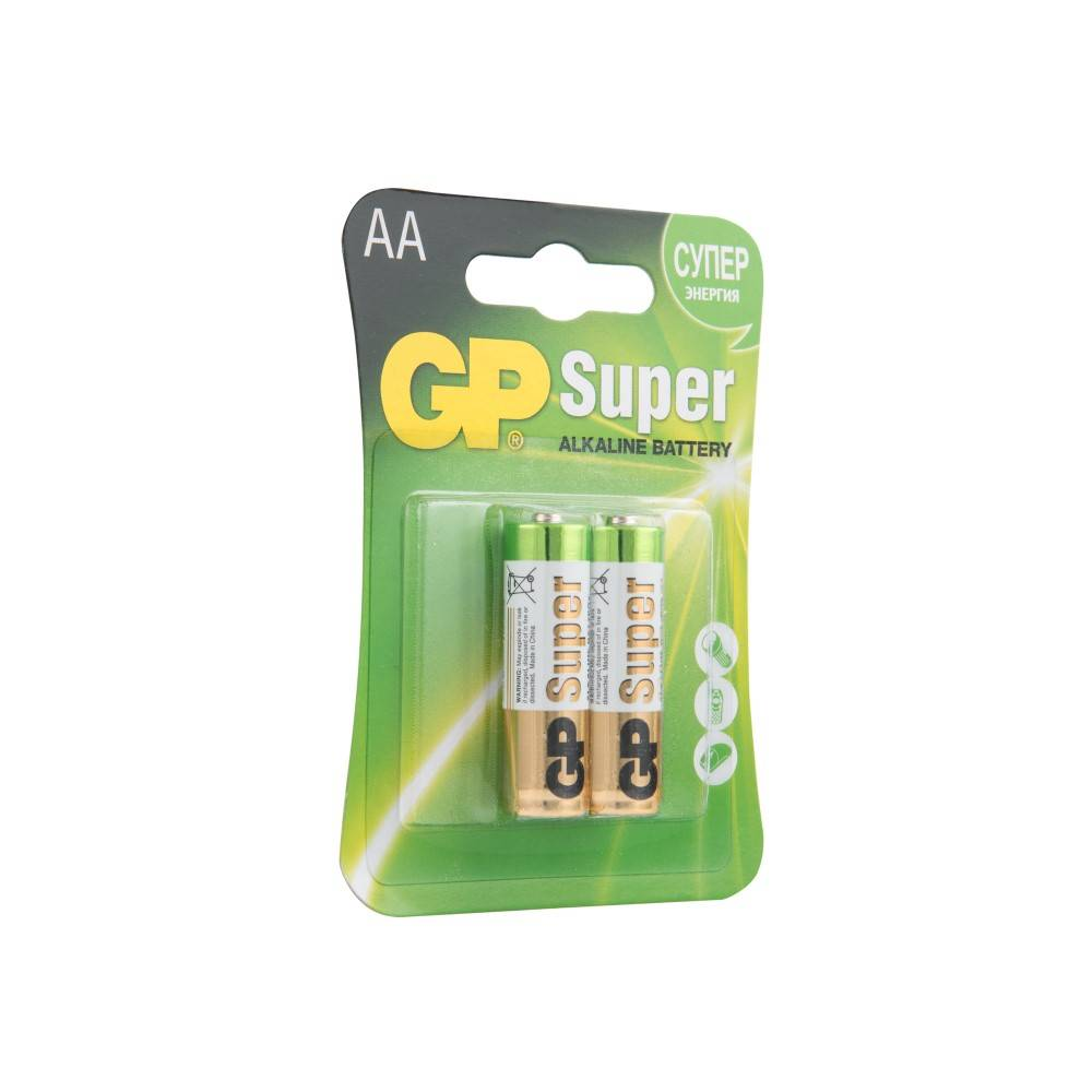 Батарейка GP Super Alkaline LR6 (2 шт)