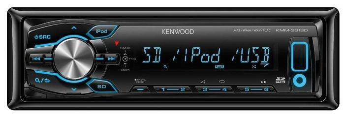 Автомагнитола KENWOOD KMM-361SD