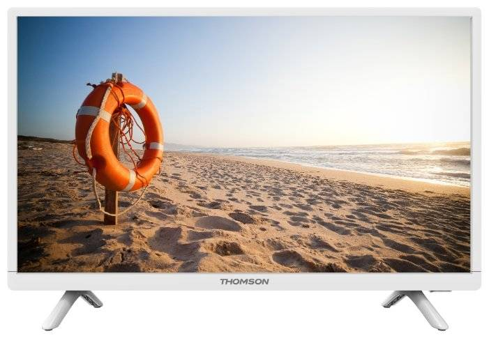 "LED 24"" THOMSON T24RTE1021 white - белый"