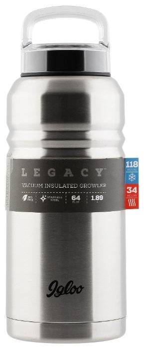 Термос IGLOO Legacy black 1,9л