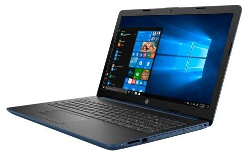 "Ноутбук 15,6"" HP 15-da0027ur Pen N5000/4/500Gb/W10 синий"