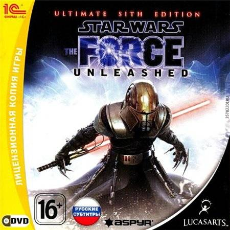 Star Wars The Force Unleashed Ultimate Sith Edition DVD