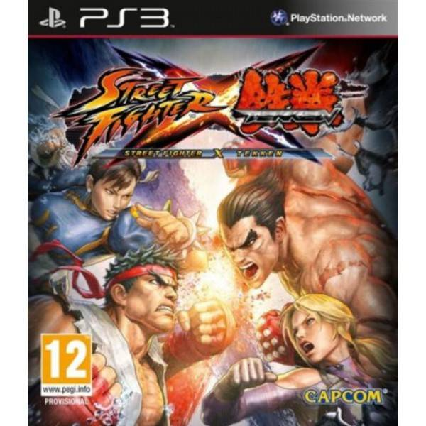 Игра для PS3 Street Fighter X Tekken (Рус. Суб.)