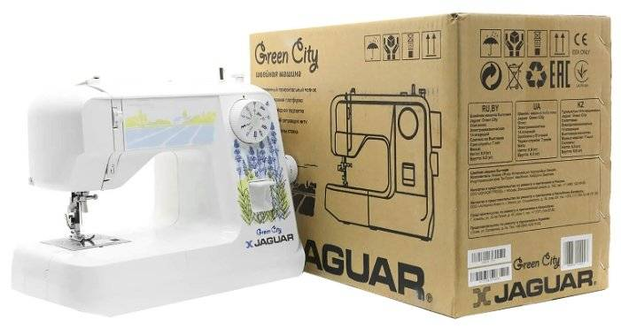 Швейная машина JAGUAR Green City