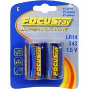 Батарейка FOCUSray Super/Ultra Alkaline LR14