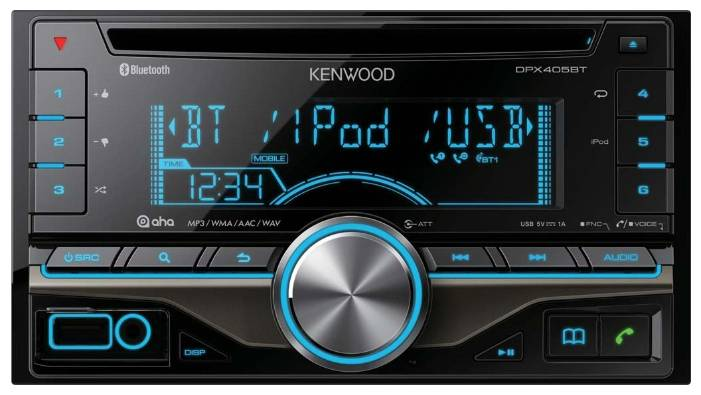 Автомагнитола KENWOOD DPX405BT