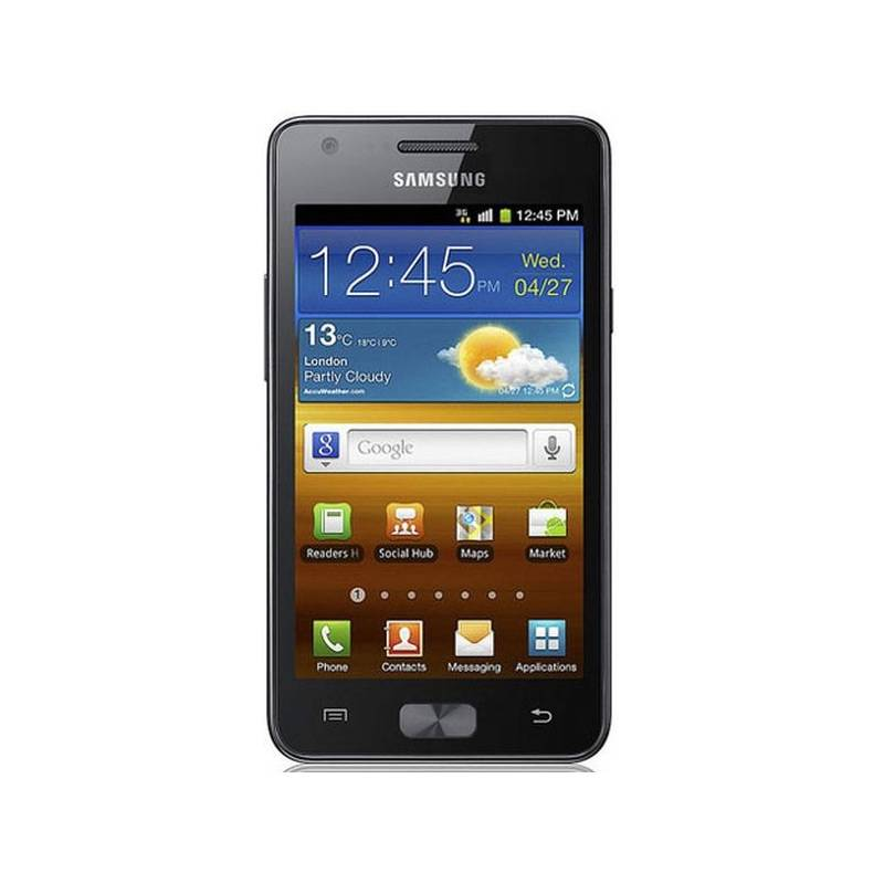 Смартфон SAMSUNG i8150 Galaxy black - черный