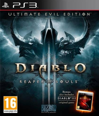 Игра для PS3 Diablo III: Reaper of Souls. Ultimate Evil Edition