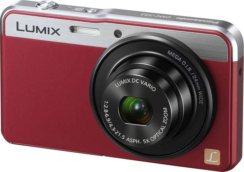 Фотоаппарат PANASONIC DMC-XS3 red - красный