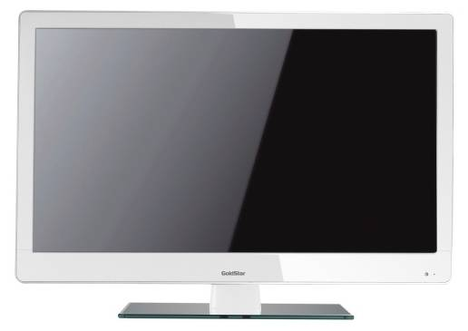 "LED 22"" GOLDSTAR LT-22T305F white - белый"