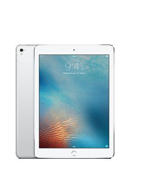 "Планшетный ПК 10"" Apple iPad Pro 9.7 Wi-Fi+Cellular 32Gb MLPX2RU/A серебристый"