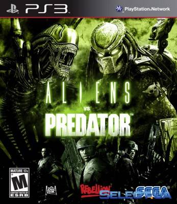 Игра для PS3 Aliens vs Predator [PS3, русская версия]