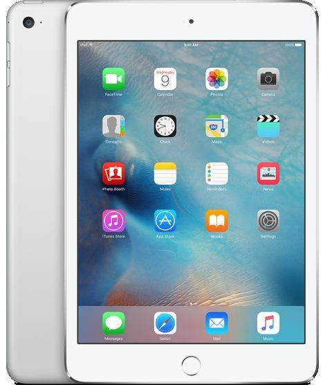"Планшетный ПК 8"" Apple iPad mini 4 Wi-Fi 64Gb MK9H2RU/A серебристый"