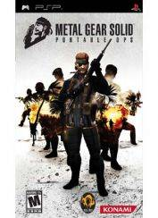 Игра для PSP Экшен Metal Gear Solid Portable Ops (Essentials)