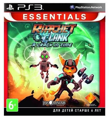 Игра для PS3 Ratchet and Clank a Crack in Time (рус. док.)