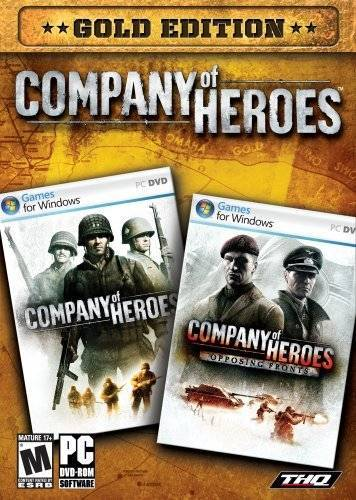 Company of Heroes. Золотое издание (PC-DVD) (DVD-box)