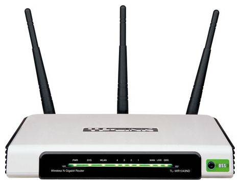 Wi-Fi маршрутизатор TP-LINK TL-WR1043ND