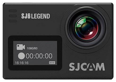 экшн камера SJCAM SJ6 Legend Air black - черный
