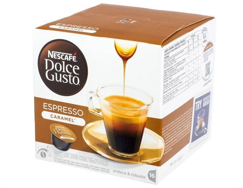 капсулы НЕСКАФЕ DOLCE GUSTO (16 капсул)