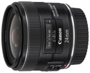 Фотообъектив CANON EF IS USM 24мм f/2.8 black - черный