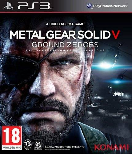 Игра для PS3 Metal Gear Solid V: Ground Zeroes