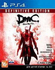 Игра для PS4 DmC Devil May Cry. Definitive Edition