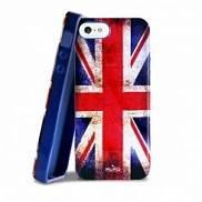 Клип кейс PURO для iPhone 5 UK flag