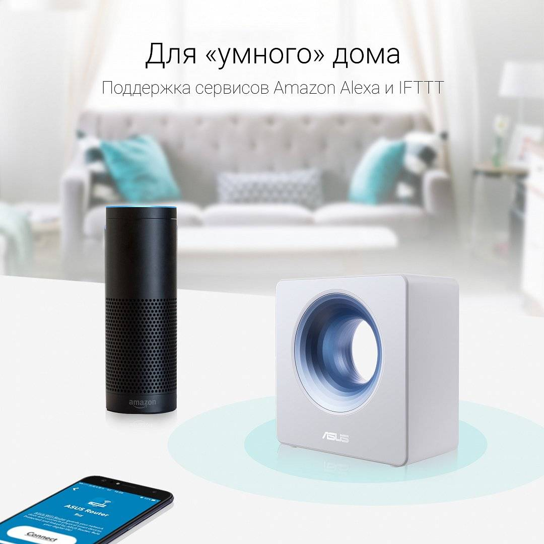 Wi-Fi маршрутизатор ASUS Blue Cave