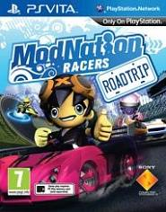 Игра для PS Vita Гонки ModNation Racers: Road Trip (PS Vita, русская верс