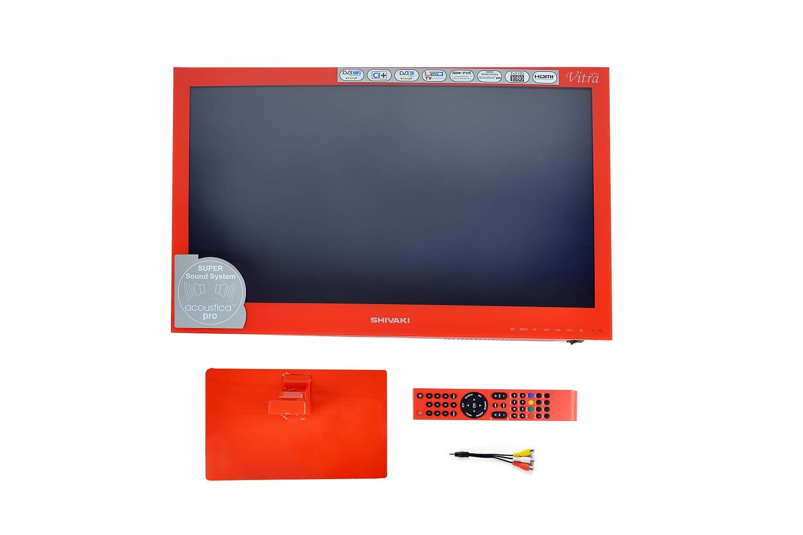 "LED 24"" SHIVAKI STV-24LEDGR9 red - красный"